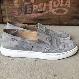 Vince Camuto Leather Slip Ons Size 8